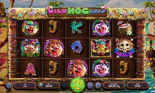Wild Hog Luau free slot