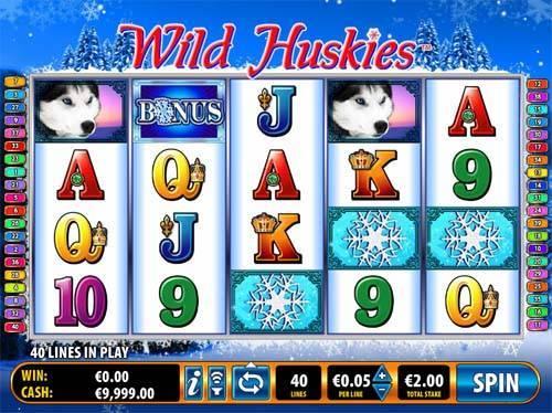 Wild Huskies free slot