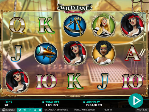 Wild Jane free slot