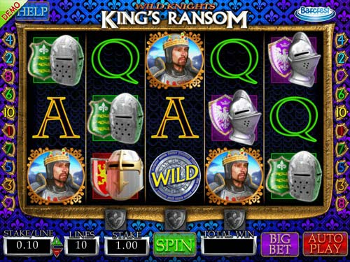 Wild Knights Kings Ransom free slot