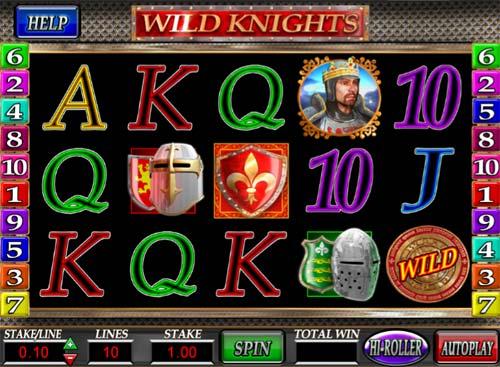 Wild Knights free slot
