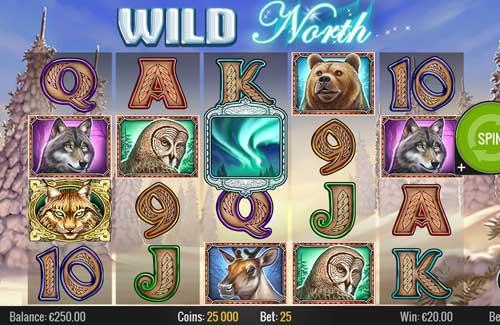 Wild Northcolossal symbols slot