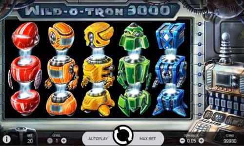 Wild O Tron 3000 free slot