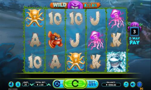 Wild Oceanwin both ways slot