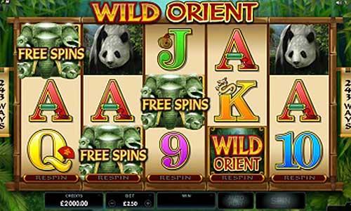 Wild Orient free slot
