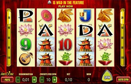Wild Panda casino slot