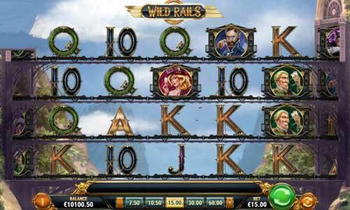 Wild Rails free slot
