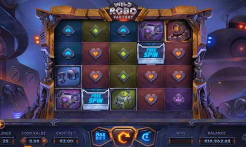 Wild Robo Factory free slot