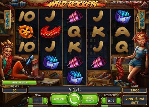 Wild Rockets free slot