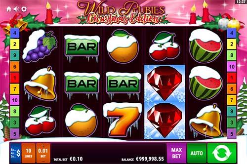 Wild Rubies Christmas Edition free slot