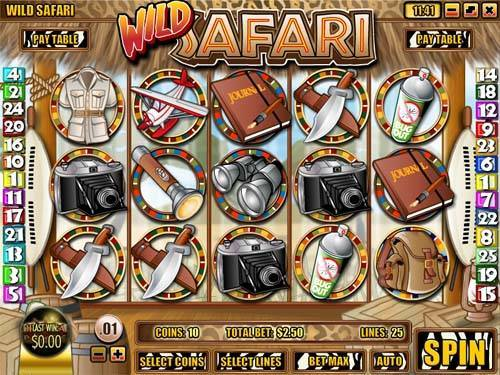 Wild Safari free slot