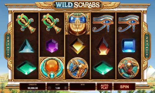 Wild Scarabs free slot