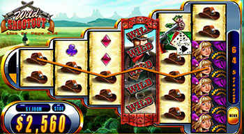 Wild Shootout free slot