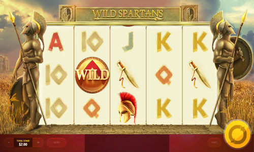 Wild Spartans free slot