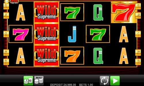 Wild Supreme free slot