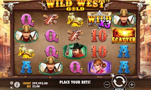Wild West Gold free slot