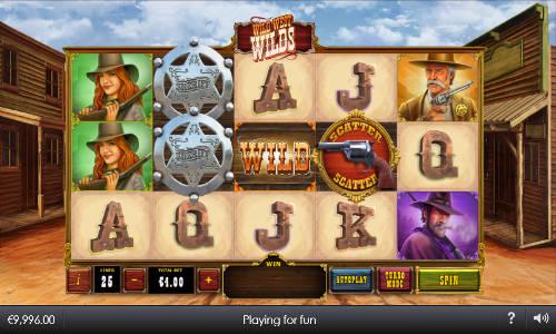 Wild West Wilds free slot