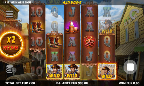 Wild West Zone casino slot