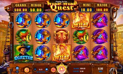 Wild Wild Quest free slot