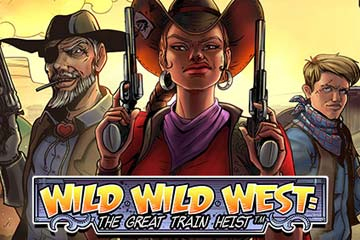 Wild Wild West The Great Train Heist casino slot