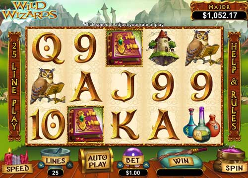 Wild Wizards free us slot