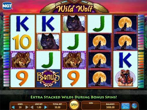 Wild Wolf free slot