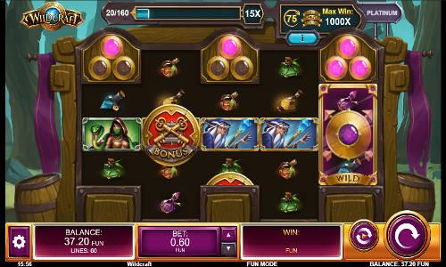 Wildcraft free slot