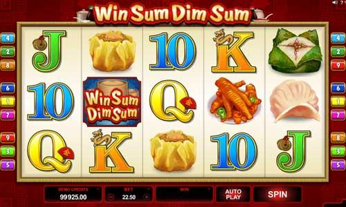Win Sum Dim Sum free slot