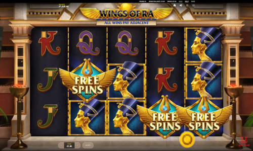 Wings of Ra free slot