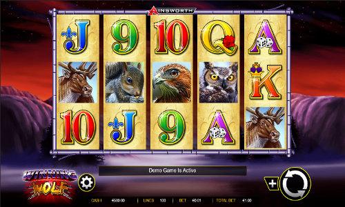 Winning Wolf free slot