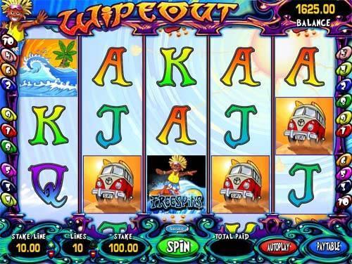 Wipeout free slot