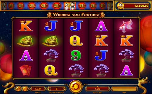 Wishing you Fortune casino slot