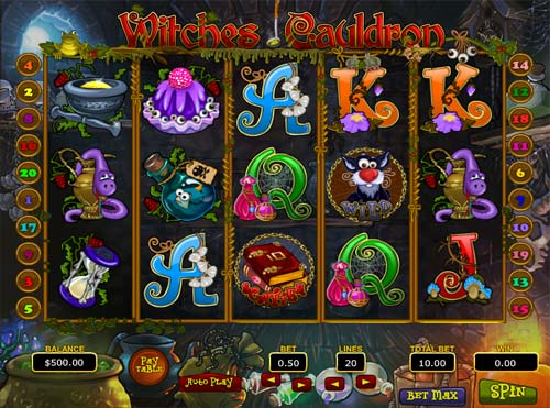 Witches Cauldron casino slot