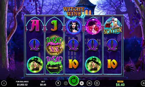 Witchy Wins casino slot