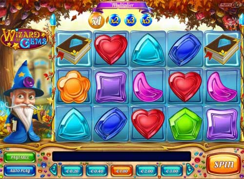 Wizard of Gems free slot