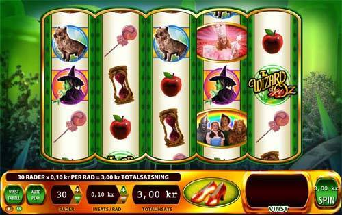 Wizard of Oz Ruby Slippers free slot