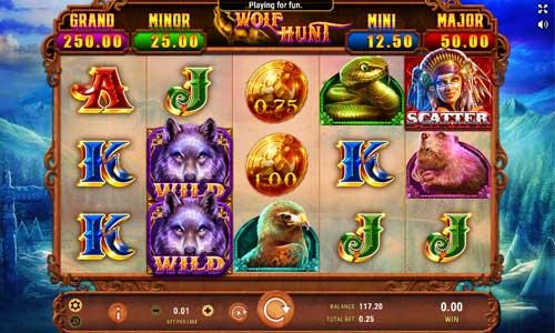Wolf Hunt free slot