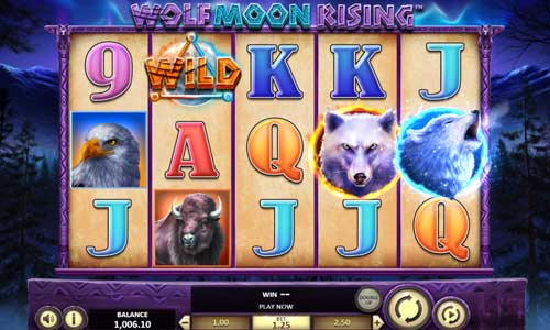 Wolf Moon Rising free slot