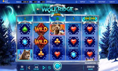 Wolf Ridge free slot