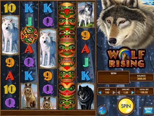 Wolf Rising free slot