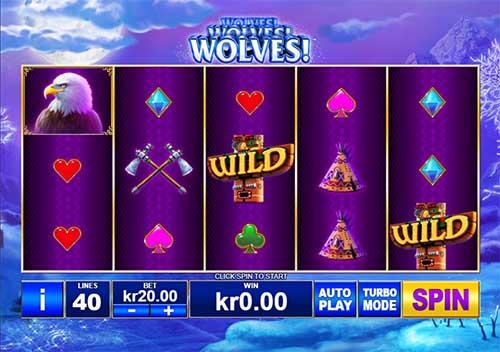 Wolves free slot