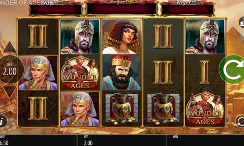 Wonder of Agesjackpot slot