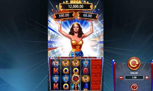 Wonder Woman Bullets and Bracelets free slot