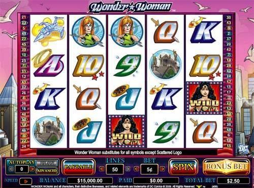Wonder Woman free slot