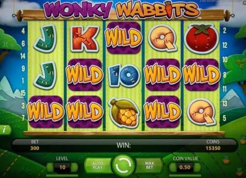 Wonky Wabbits free slot