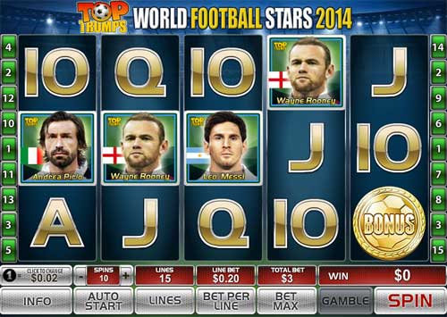 World Football Stars 2014 free slot