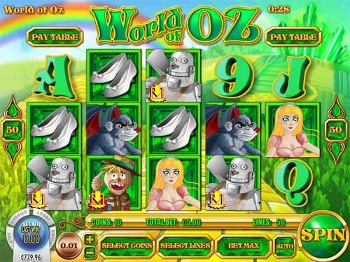World of Oz free slot