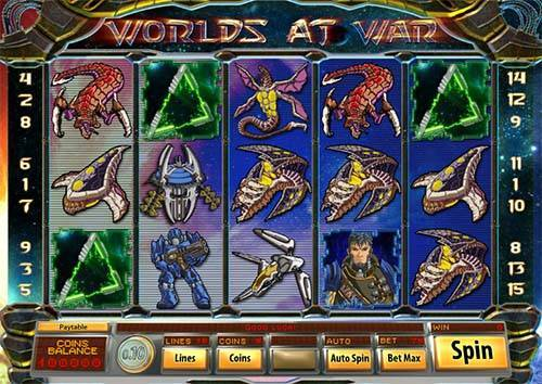 Worlds at War free slot