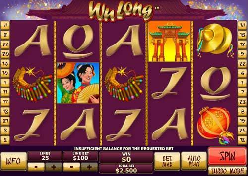 Wu Long casino slot
