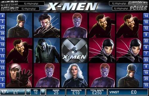 X-Men free slot